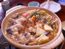栄養たっぷりのあんこうと深谷ねぎとのコラボがうれしいあんこう鍋