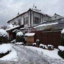 雪景色の【薩摩の里】