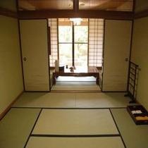 8畳+6畳の二間の和室