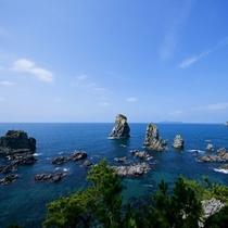 海上アルプス青海島(お車で約20分)