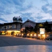 湯免観光ホテル 名湯 ゆめの郷 全景