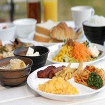 【朝食】盛り付け②