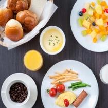 【朝食】盛り付け④