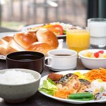 【朝食】盛り付け③