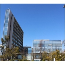 【刈谷豊田総合病院】ホテルより徒歩5分。刈谷市の中核総合病院です。