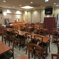 【1階朝食会場】朝6時30分から9時30分まで朝食お召し上がりいただけます。