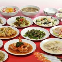 *中国人の1級調理師による本格中国料理をお楽しみ下さい!(ご夕食一例)