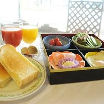 *【選べる朝食】ヘルシー洋食