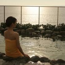 太平洋展望露天風呂「つばすの湯」