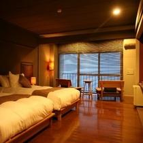 半露天風呂付「海のSuite」洋室【木/夕陽】 Room/No306