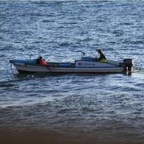 【風景】夫婦で力を合わせて伊勢えび漁