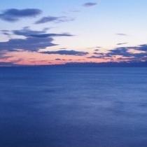 【風景】夕映えの熊野灘