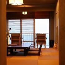 離れ感覚/半露天風呂付「海のSuite」【土/星】 Room/No305