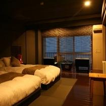 半露天風呂付「海のSuite」洋室【石/波】 Room/No308