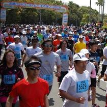 志摩ロードパーティハーフマラソン(4月の第三日曜日)