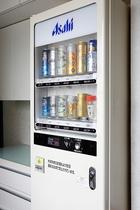 自動販売機(ビール類)_4階にございます。ジュースもあります