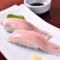 *岩魚のお寿司(お夕食一例)