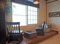 【和室15畳】外を眺めながら、お部屋でゆっくり寛げます