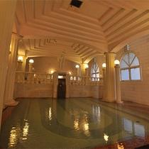 【洋風呂】古代ギリシャをイメージした 『パルテノン湯』