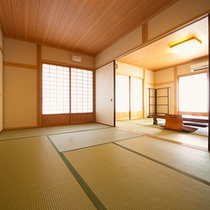 ■和室■さくら 8畳二間続きとなっております。