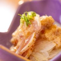 ■鶏のたたき■ 大分県産の食材をいただく