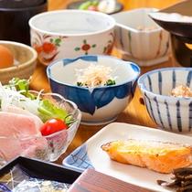 ■ご朝食■ 栄養バランスを考えた新鮮なものをご提供いたします。