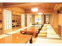 1階大広間は朝食会場にもなります