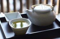 丸久小山園のお茶でほっこりと。
