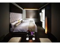 柔らかいクッションが心地良いベッド(シモンズベッド6.5)で一日の疲れをリセット/スーペリア