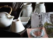 前田珈琲のスペシャルブレンド『龍之助』や、丸久小山園のティーバッグなどもご用意しています。