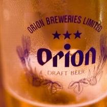 お部屋でほっこり。オリオンビールを味わう、島時間。(イメージ)