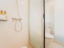 ▲シャワースタンダードルーム シャワーブース
