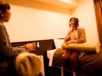 ●友達同士で広々ツインルーム