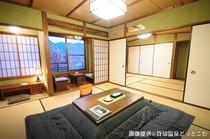 本館和室二間「ききょう」©kashikiri-onsen.com