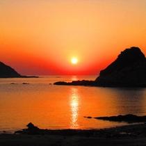 太平洋から昇る朝日は客室からもご覧いただけます