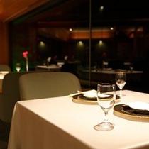 リニューアルのレストラン