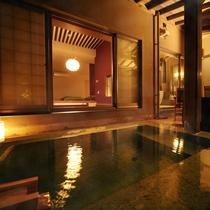 ◆野天風呂つき◇和洋室-106-◆≪源泉かけ流し_野天風呂≫