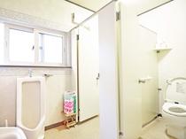 【トイレ】男性用の共同トイレです
