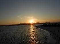 古宇利島の夕陽