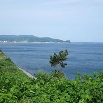 輪島を遠くから眺める