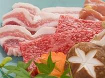 三種肉プランのお肉