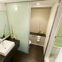 【スーペリアルーム】バス・トイレ・洗面所が分かれたお部屋ですのでより快適にお過ごしいただけます♪