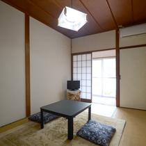 <和室>1〜2名用客室(一例)