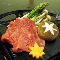 *夕食一例(しゃぶしゃぶ)