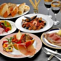 *イタリアンディナー一例