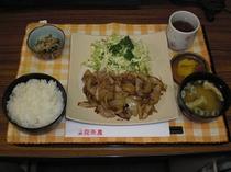 夕食メニュー2