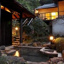 【煌】庭園露天風呂