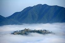極上の雲海の竹田城