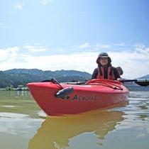 *【カヌー体験】阿賀野川は穏やかな川なので初心者でも安心!のんびり水上旅行をお楽しみください♪