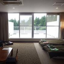 *【客室】2F&3Fの客室は広々としたバルコニー付きです。